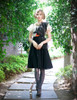 Vintage Retro Fashion Casual Midi Dress Anubis Womens Summer Prom Dress