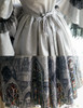 Detail View under natural sunlight (Light Grey Ver.) (optional skirt: SP00194, petticoat: UN00026)