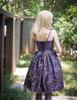 Model Show (Pale Purple + Black Chiffon & Beaded Starlight Tulle Ver.) (petticoat: UN00026)