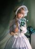 Model Show (Light Grey Version) Dress DR00066N, Bonnet P00641