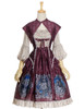 Front View (Burgundy + Warm Grey Ver.) (petticoat: UN00026)