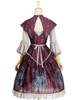 Back View (Burgundy + Warm Grey Ver.) (petticoat: UN00026)