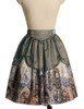 Front View (Champagne + Green Golden Illusion Tulle Ver.) (petticoat: UN00026)
