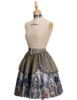 Side View (Light Grey + Golden Silver Illusion Tulle Ver.) (petticoat: UN00026)