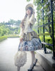 Model Show (Champagne + Green Golden Illusion Tulle Ver.) (bonnet: P00577N, blouse: TP00165, petticoat: UN00026)