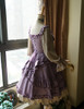 Side View under natural sunlight (Vintage Lilac + Warm Grey Ver.) (petticoat: UN00026)