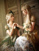Group Model Show Midi Dress DR00232, Hat P00540, Crown P00623