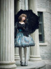 Model Show (Black Ver.) (headdress: P00570, gloves: P00581, skirt set: SP00195+SP00162, petticoat: UN00026)