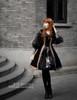 Model Show (Black Ver.) (birdcage petticoat: UN00019, leggings: P00182)
