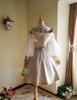 Back Full View (White Ver.) (birdcage petticoat: UN00019)