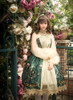 Model Show (Dark Green + Gold + Light Ivory Ver.) (petticoat: UN00026)