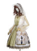 Side View (White + Gold + Light Ivory Ver.) (petticoat: UN00019)