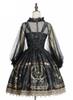 Back View w/o Hood (Black + Gold Ver.) (petticoat: UN00019)