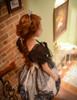 Model Show (White + Black Ver.) (petticoat: UN00019, brooch: P00589)