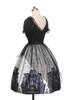 Side View (White + Black Ver.) (petticoat: UN00019)