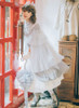 Model Show (Light Grey Ver.) (headdress: P00626, dress set underneath: DR00222, petticoat: CT00040S, UN00028, gloves: P00592, socks: AD00903)