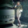 Model Show (blouse: TP00170, jumper shorts: SP00190, sunglasses: AD00614, shoes: D00012)