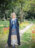 Model Show (Mercury Blue + Ivory Ver.) (coat: CT00290, necklace: A10003, white dress underneath: DR00242) *crown NOT for sale