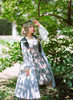 Model Show (Sage Green Plaid Ver.) (headdress: P00639, coat: CT00302, blouse: TP00142N, petticoat: UN00019)
