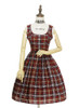 Front View w/o apron (Cherry Red Plaid Ver.) (petticoat: UN00019)
