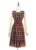 Back View w/o apron (Cherry Red Plaid Version)
