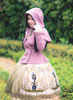 Model Show (Lilac Ver.) (cape: CT00304, dress: DR00243, petticoat: UN00026, gloves: P00572)