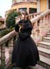 Model Show (Black Ver.) (headdress: P00636, coat: CT00301, petticoat: UN00026, gloves: P00581)