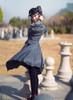 Model Show (Bunny Ears Ver.) (dress: DR00244, blouse: TP00172, petticoat: UN00027, shoes: D00012)