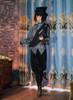 Model Show (Black Ver.) (hat & sash: P00614, blouse: TP00172)