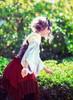 Model Show (Burgundy Ver.) (headdress: P00622, blouse: TP00175, corset vest: Y00037, neck ribbon from TP00172, petticoat: UN00027)