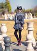 Model Show (hat: P00642, shorts: SP00196, shoes: D00012)