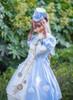 Model Show (hat: P00644, dress: DR00245, wristlets: P00530, petticoat: UN00026)