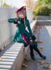 Model Show (Burgundy + Black Ver.) (hat: P00645, coat: CT00263, underdress: DR00187, petticoat: UN00026)