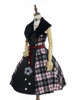 Front Side View (Pink & Black Plaid Ver.) (petticoat: UN00019)
