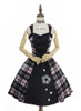 Front View w/o fur shawl (Pink & Black Plaid Ver.) (petticoat: UN00019)