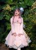 Model Show (Pink Ver.) (hat: P00644, blouse underneath: TP00173, dress underneath: DR00245, petticoat underneath: UN00026, bag: P00613)