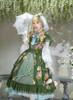 Model Show (Green Ver.) (dress: DR00247, blouse underneath: TP00176, gloves: P00572, petticoat: UN00019, UN00029) other items NOT for sale