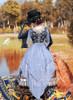 Model Show (Sliver + Grey Ver.) (hat: P00650, gloves: P00581, petticoat: UN00019, UN00026)