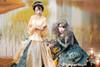Model Show (Dark Green Ver.) (Left girl wearing headdress: P00636, cutsew: TP00178, skirt: SP00201)
