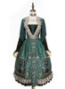 Front View w/o skirt piece (Dark Green Ver.) (petticoat: UN00019, UN00026)