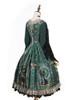 Back Side View w/o skirt piece (Dark Green Ver.) (petticoat: UN00019, UN00026)