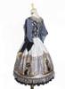 Back Side View w/o skirt piece (Silver + Grey Ver.) (petticoat: UN00028)