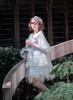 Model Show (Baby Blue Ver.) (blouse: TP00177, skirt set: SP00200, petticoat: UN00026)