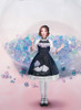 Creative Model Show (Dark Blue Storm + White Underdress Ver.) (hair bow: P00653, petticoat: UN00019, socks: AD00903)