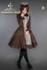 Model Show (shrug: CT00200, dress: DR00152, leggings: P00182)