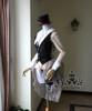 Co-ordinates Show vest set CT00230, hat P00526, brooch P00586, blouse TP00103