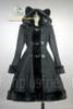 Front View (Full Ver.) (Black Wool & Fur)