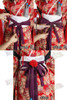 triple bowknots tie method step 2**This fabric NOT available