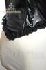 Elegant Gothic Aristocrat Over Bust Steel Boned Leather Corset