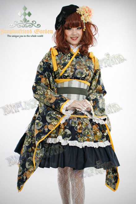Model View Items in photo (sell separately): beret P00406 wig W00119 leggings P00419 gloves P00100 petticoat UN00022
